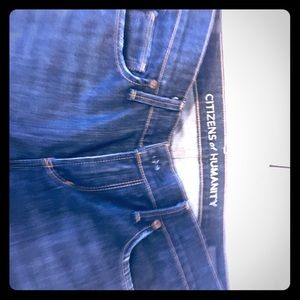 Citizens of Humanity dark washed jeans